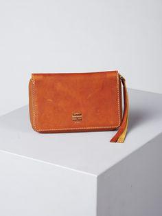 Acne Quartz leather clutch. $149
