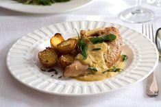 Stew, Potato Salad, Menu, Potatoes, Chicken, Ethnic Recipes, Food, Menu Board Design, One Pot