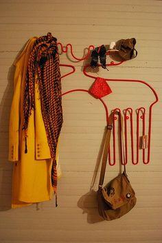 Ikea moose coat rack.