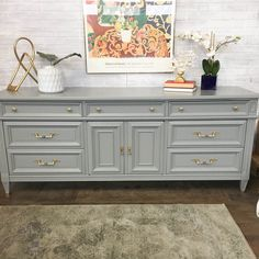 Furniture For Sale Black Friday Painted Bedroom Furniture, Painted Furniture, Refurbished Furniture, Refinishing Furniture, Furniture, Home Decor, Custom Furniture, Grey Painted Dresser, Home Decor Furniture