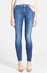 MOTHER 'The Charmer' Skinny Jeans (Dance Of The Mockingbird)