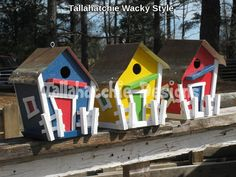 30% OFF TODAY Metal Roof Rustic Birdhouse by TallahatchieDesigns