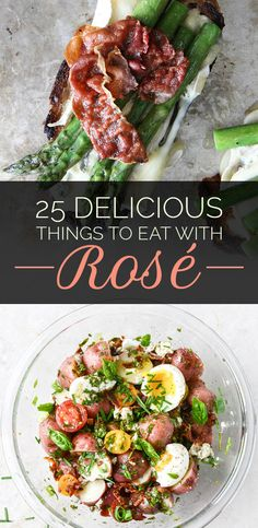 25 Foods That Go Perfectly With A Glass Of Rosé