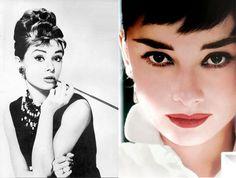 """""""I believe happy girls are the prettiest girls"""" Audrey Hepburn"""