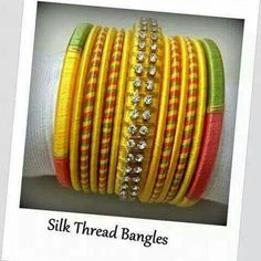 To order, pls what's app on 9704084116 Silk Thread Jumkas, Silk Thread Bangles Design, Silk Bangles, Thread Art, Thread Jewellery, Diy Jewellery, Handcrafted Jewelry, Hand Embroidery, Jewelery
