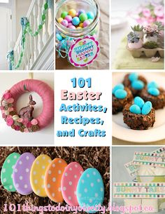 101 Easter Activities, Recipes & Crafts