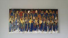 Black Church, Contemporary Artwork, Metallic Paint, Black Art, Worship, Original Artwork, Texture, Canvas, Artist