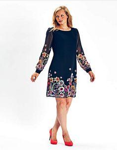Mark Heyes Floral Print Tunic Dress