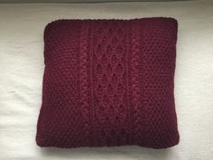 Beautifully designed hand made Aran Knitted cushion cover! Perfect for any home and available to order right now on my etsy shop. Go check it out ships worldwide Knitted Cushion Covers, Knitted Cushions, Knitwear, My Etsy Shop, Ships, Trending Outfits, Unique Jewelry, Handmade Gifts, Check