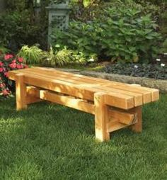 31-DP-00845 - Durable Doable Outdoor Bench Downloadable Woodworking Plan PDF