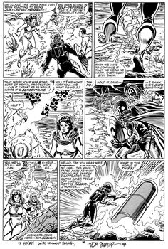 Avengers #263 page 28 Comic Art