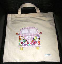 Retro Camper Bag applique