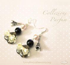 Parfum earrings <3