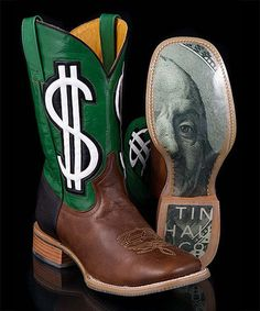 Loving this Dark Brown Cash Money Benjamin Cowboy Boot - Men on #zulily! #zulilyfinds