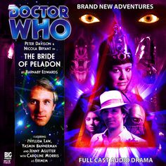 The Bride of Peladon Phyllida Law, Doctor Who Books, Peter Davison, Big Finish, The Rouge, Audio Drama, Full Cast, It Cast, Cd Cover