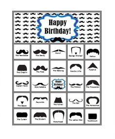 Brilliant Names For Types Of Moustaches Google Search Stache Party Hairstyles For Women Draintrainus