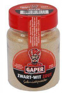 Gaper Zwart Wit Zout Salmiakpoeder 30 gram - SNOEP - Online Snoep Bestellen - Grootste Online Snoepwinkel