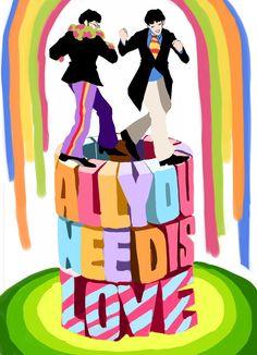Beatles Guitar, Beatles Love, Beatles Art, Fanart, Beautiful Bugs, Hippie Art, Yellow Submarine, Love Wallpaper, Photoshop Design