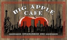 Big Apple Cafe menu, Murray, Ky.