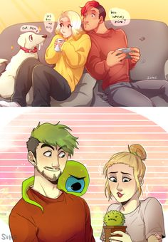 Amyplier and Septiishu [ COLLAB ] by FloatingMegane-san on DeviantArt