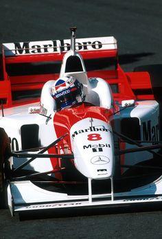 1996, Belgien GP, Spa-Francorchamps, David Coulthard, McLaren