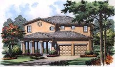 Stately Curb Appeal - 63161HD | Architectural Designs - House Plans