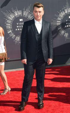 Sam Smith from 2014 MTV Video Music Awards Red Carpet Arrivals | E! Online #VMAs