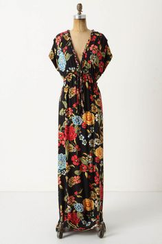Frida Maxi Dress - Anthropologie $148.00  I would LOVE to own this.  Effortless, yet super Chic