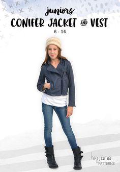 Conifer Jacket by Hey June Handmade