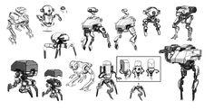 bots sketches by sambrown