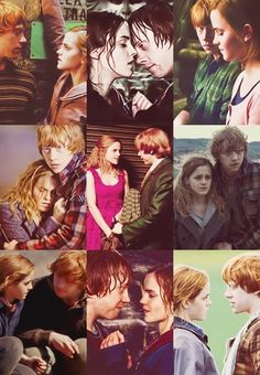 Romione ❤️❤️❤️❤️❤️❤️ 3 parti non ci sono nel film La 1 e la 9 Photo Harry Potter, Harry Potter Ron And Hermione, Harry Potter Tumblr, Harry Potter Jokes, Ron Weasley, Forced Love, Harry Potter Aesthetic, Geometric Drawing, Thing 1