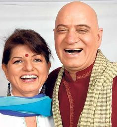 Founders of laughter yoga - The Katarias!