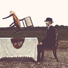 Haunting surreal photography from Nicolas Bruno show the nightmares he's experienced while suffering from sleep paralysis