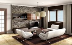 Cozy Interior decoration ideas for small living room photos-of-modern-living-room-interior-design-ideas- Elites Home Decor Small Living Room Design, Small Living Rooms, Living Room Modern, Interior Design Living Room, Living Room Designs, Cozy Living, Simple Living, Living Area, Family Rooms
