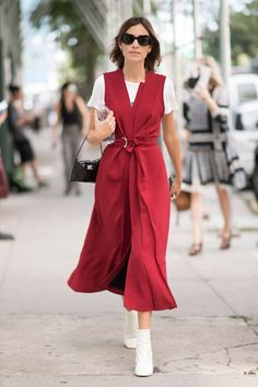See Alexa Chung's Street Style Moments. Track Alexa Chung's street style looks on Vogue.co.uk.