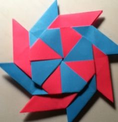 How to Make a 8 Point Transforming Ninja Star - Snapguide