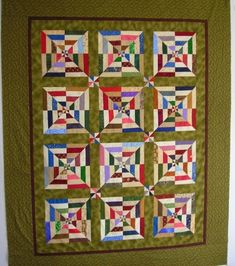 Spiderweb quilt with PDF file for pattern