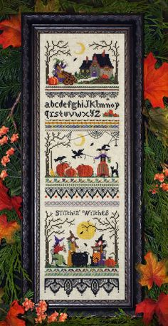 Stitchin' Witches - Victoria Sampler