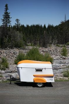 American Dream Trailer revives vintage camper with rowboat roof. The Classic American Dream Trailer is based on the original Trailorboat from the early 60s