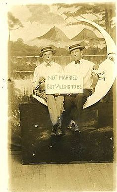 Early supporters of gay marriage rights?