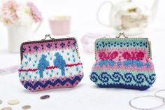 Fair Isle purses