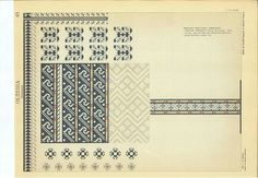 Folk Embroidery, Embroidery Patterns, Cross Stitch Borders, Projects To Try, Diagram, Abs, Traditional, Blouse, Folklore