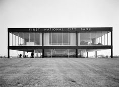 First National City Bank Idlewild (now JFK) Airport, New York, Skidmore, Owings and Merrill, 1960
