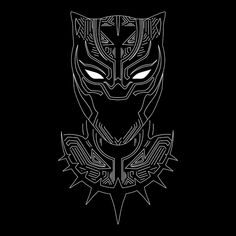 Black Panther Minimalism - Black Panther - T-Shirt Black Panther Symbol, Black Panther Marvel, Black Panther Drawing, Black Panther Tattoo, Black Panther King, Black Panther T Shirt, Panther Logo, Hero Poster, Marvel Tattoos