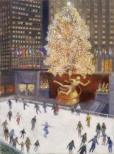 Guy Wiggins - Rockefeller Center http://whitesnowshow.blogspot.com/2006/12/guy-wiggins-2.html
