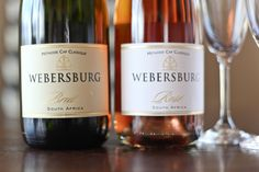 Webersburg Brut and Brut Rose #bubbles