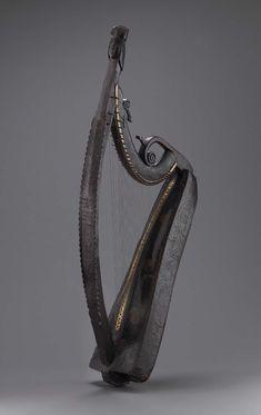 Harp (cláirseach) 1734 John Kelly (Irish, active 1726–1734)