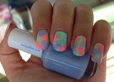 WOW Polish: Pastel Sponging Fun Nail Art Design!