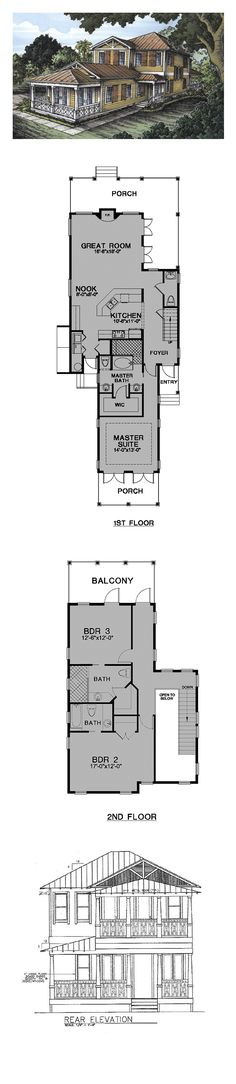 16 best florida cracker house plans images on pinterest for Coolhouseplans com