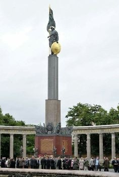 Vienna. The Schwarzenbergplatz.  A Monument to Soviet soldiers-liberators #Vienna #Europe #SovietArmy